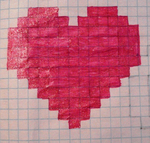 картинки рисуем по клеточкам для личного дневника