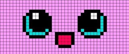 рисовать пиксельные картинки i