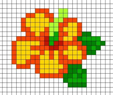 Рисовать простой цветочек